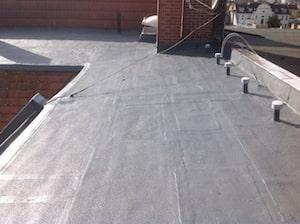 Sanierung von Bitumen-Dachbahnen